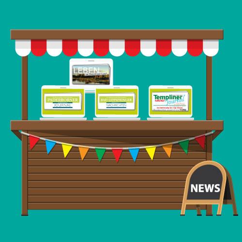 Digitaler Kiosk