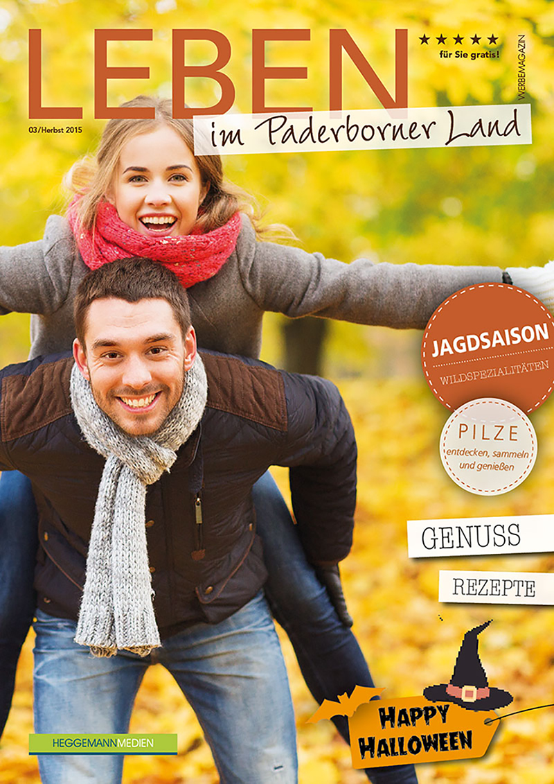 Leben im Paderborner Land, Ausg. 03, Herbst 2015