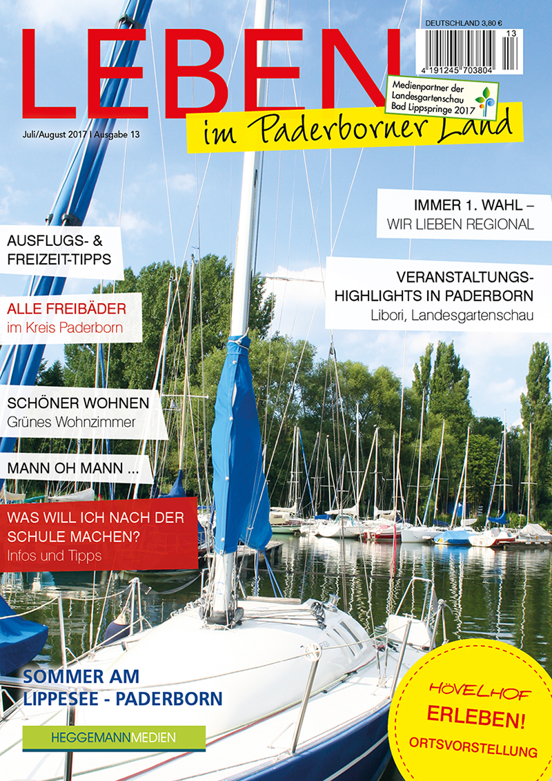 Leben im Paderborner Land 13 von Juli/August 2017