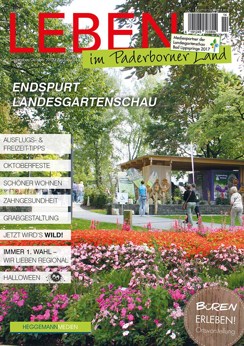Leben im Paderborner Land 14 von September/Oktober 2017
