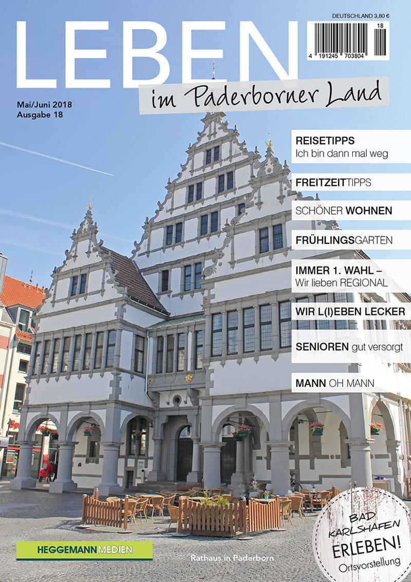 Leben im Paderborner Land 18 von Mai/Juni 2018