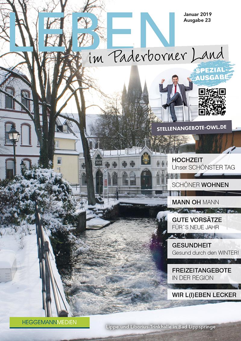 Leben im Paderborner Land 23 von Januar 2019