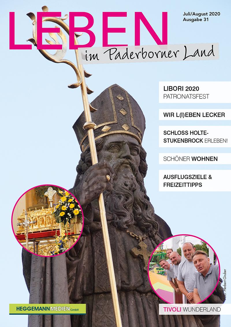 Leben im Paderborner Land 31 von Juli/August 2020